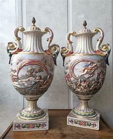 vasi capodimonte antichi capodimonte vaso 2 porcellana catawiki