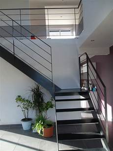 escalier quart tournant escalier metal bois quart tournant