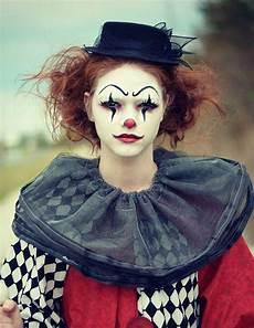 clown frau schminken gruselige variante der clown schminke f 252 r frauen