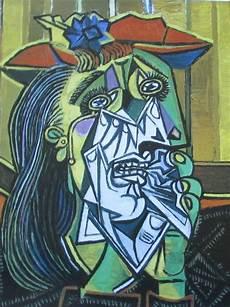 Kubismus Berühmte Bilder - pablo picasso weinende frau mit puppe 2 kunstdrucke