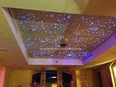 sternenhimmel im schlafzimmer led sternenhimmel 200 lichtfaser sauna bad wellness