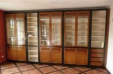bibliothèque moderne sur mesure biblioth 232 que modulable sur mesure en merisier massif