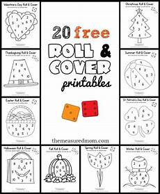 20 free roll and cover games math ideas preschool math games kindergarten math preschool math