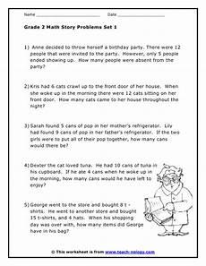 word problem addition worksheets for grade 2 9562 grade 2 word problems set 1