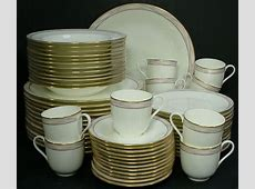 MIKASA china SANTA CRUZ pattern CAG08 60 Piece SET SERVICE