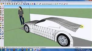 Making A Car In Google SketchUp 8 Part 2  YouTube