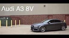 audi a3 8v 34567 lowered audi a3 8v ag wheels kw suspension b b exhaust jb1
