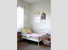 Shared Feminine, Vintage Modern Toddler Room   Project Nursery