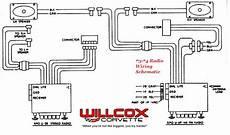 1973 1974 Corvette Radio Wiring Schematic Willcox