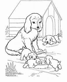 Ausmalbilder Hunde Und Welpen Ausmalbilder Hund Bild Mutter Und Ihre Kleinen Welpen