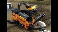 incredible selfmade rc mobile sorting machine sorting soil