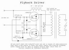 flyback transformer diagram miniature wireless power demonstrator marko s science site