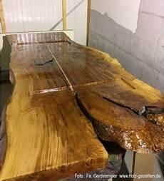 Holzrisse Füllen Harz - tische und b 246 den mit epoxidharz realisieren