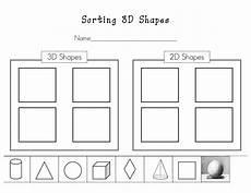 sorting activities for preschoolers worksheets 7872 kinder learning garden teaching 3d shapes