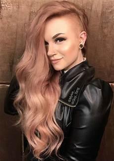 51 long undercut hairstyles for women in 2020 diy