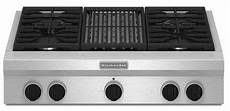 Kitchenaid Cooktop With Grill by Kgcu462vss Kitchenaid 36 Quot Commercial Gas Cooktop With