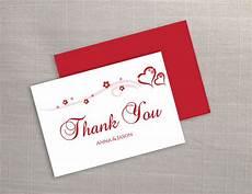 thank you card editable template diy printable wedding thank you card template 2373282