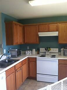 behr venus teal paint oak cabinets kitchen home pinterest oak cabinets colors and the o