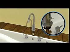 montage robinet encastrable installation de robinet pour baignoire romaine h2flo 174 de