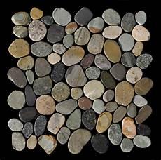 1 Kiesel Matte K 567 Kieselstein Mosaik Auf Netz Earthy