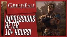 greedfall reveal everything en on mil said or say nothing greedfall my impressions after 10 hours youtube
