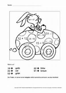 Ausmalbilder Ostern Rechnen Rechnen Und Malen Ostern Feste Und Feiertage Hus