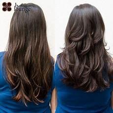 Stufenschnitt Lange Haare Hinten In 2019 Stufenschnitt