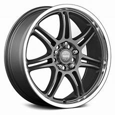 momo 174 rpm evo wheels matte anthracite with polished lip rims