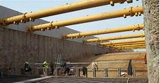 types of earth retaining structures or excavation supports and their applications