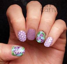 lilac nail art the little canvas