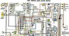 Free Auto Wiring Diagram 1971 Vw Beetle And Beetle