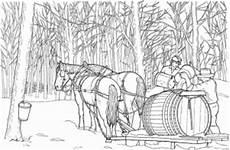 Ausmalbilder Bauernhof Mit Pferden Pferde Mit Wagen Ausmalbild Malvorlage Bauernhof
