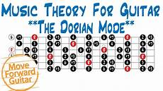 guitar scales explained theory for guitar major scale modes dorian