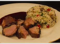 duck breast with asian sauce_image