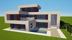 Minecraft Modernes Haus Bauen Tutorial Haus 143