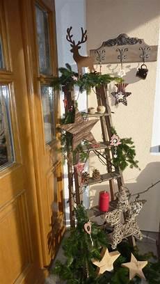 Alte Leiter Dekorieren - haust 252 r deko mit alter leiter weihnachten