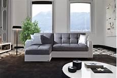 mobili divani e divani divano letto angolare modelo quot kubo quot con penisola bianco e