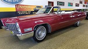 1968 Cadillac DeVille Convertible For Sale 121448  MCG