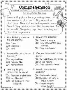 question it comprehension passages with multiple choice questions