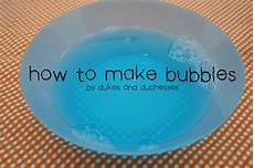 back to basics how to make bubbles dukes and duchesses