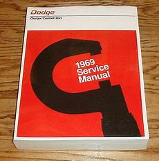 service repair manual free download 1969 dodge charger electronic throttle control 1969 dodge charger coronet dart service shop manual 69 ebay