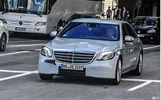 Mercedes S Klasse V222 2018 22 October 2017