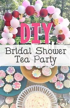 diy bridal shower tea party