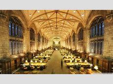 Download Harper Memorial Library Reading Room Wallpaper