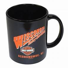 Harley Davidson Mugs by Harley Davidson Ceramic Coffee Mug Black Wishd Mug Harley