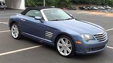 chrysler crossfire cabrio for sale 2005 chrysler crossfire limited convertible