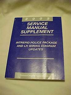 free online auto service manuals 2002 dodge intrepid parking system 2002 dodge intrepid police car package lh wiring service shop repair manual ebay