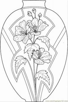 Malvorlage Blumen In Vase Flower Page Printable Coloring Sheets Coloring Pages