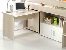 Kinderzimmer Chiron 6 Akazie Hochbett Schreibtisch