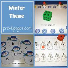 winter themed worksheets pre k 20105 pre k pages literacy and preschool on